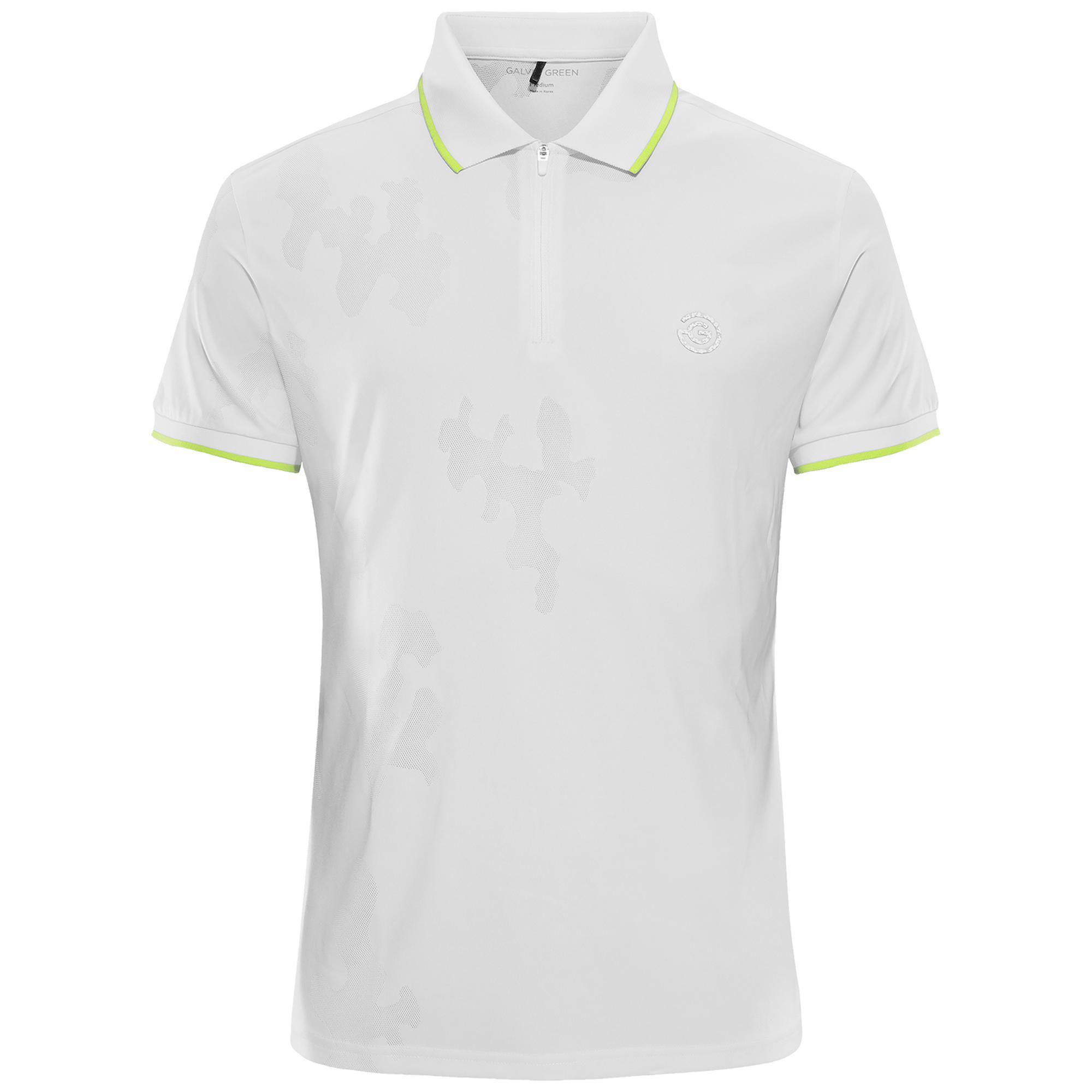 Men's E-The White Short Sleeve Polo