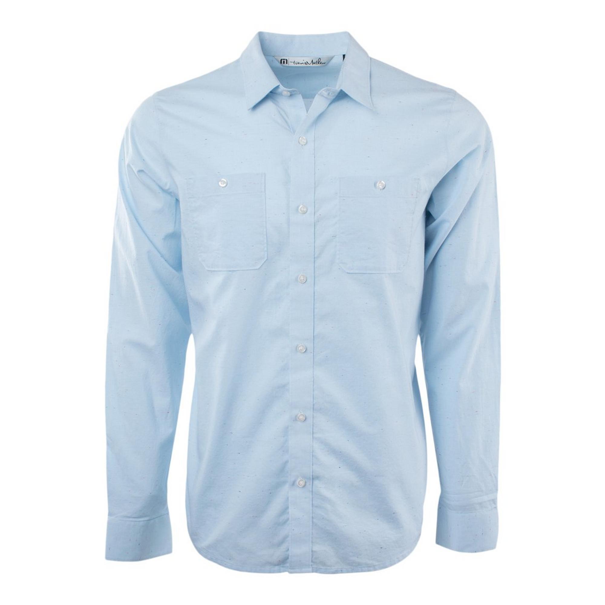 Men's Atmosphere Woven Long Sleeve Shirt