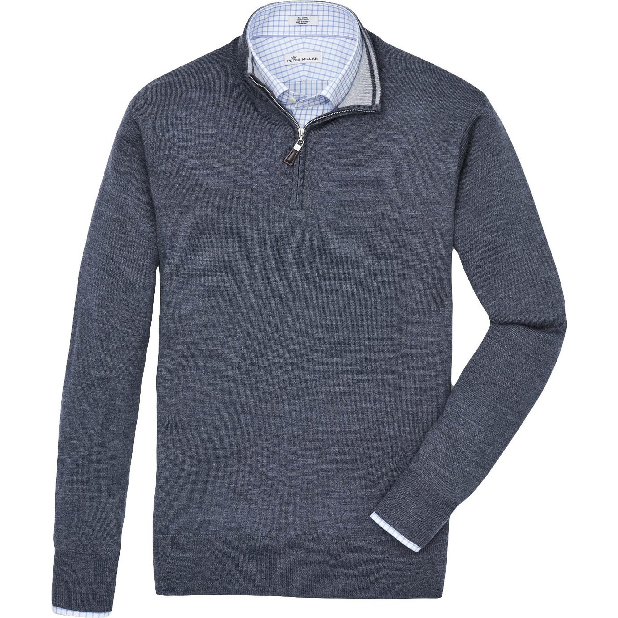 Men's Crown Soft 1/4 Zip Sweater