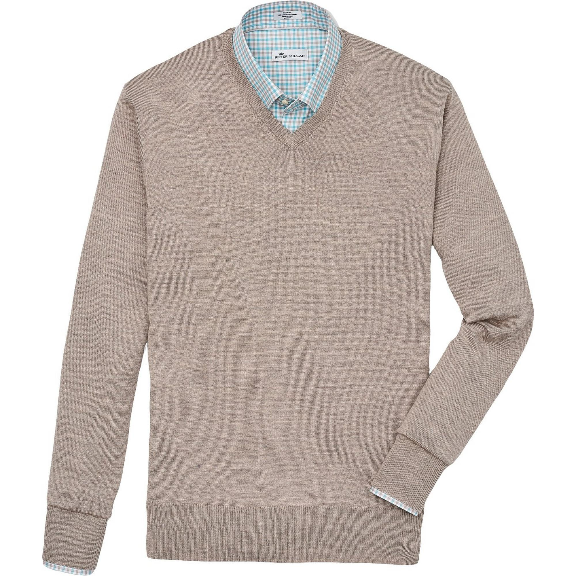 Men's Crown Soft V-Neck Sweater