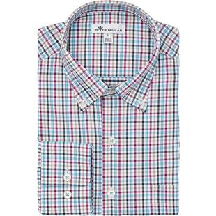 Men's Lawson Performance Tattersall Woven Long Sleeve Shirt