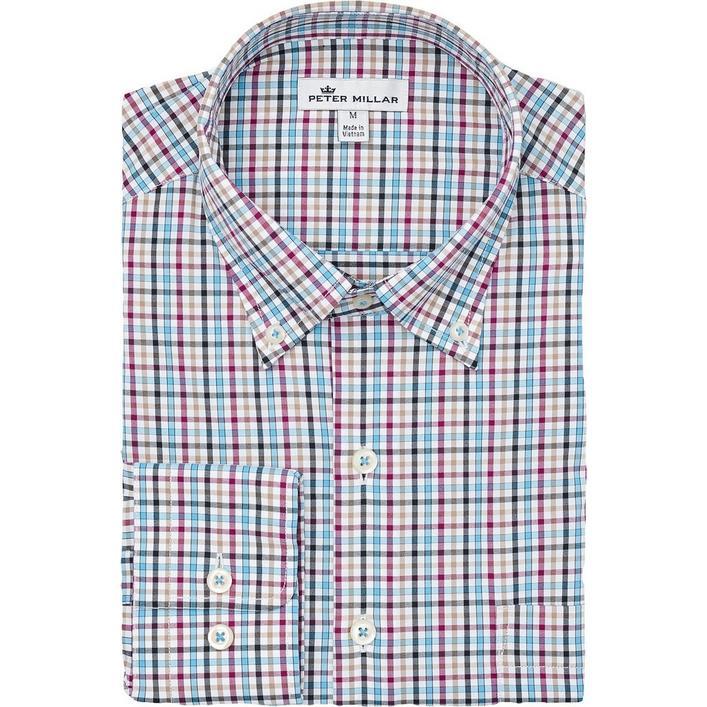 Men's Lawson Performance Tattersall Woven Long Sleeve Shirt