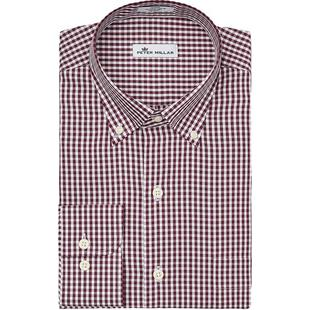 Men's Crown Soft Gingham Woven Long Sleeve Shirt