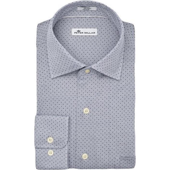 Men's Constellation Woven Long Sleeve Shirt