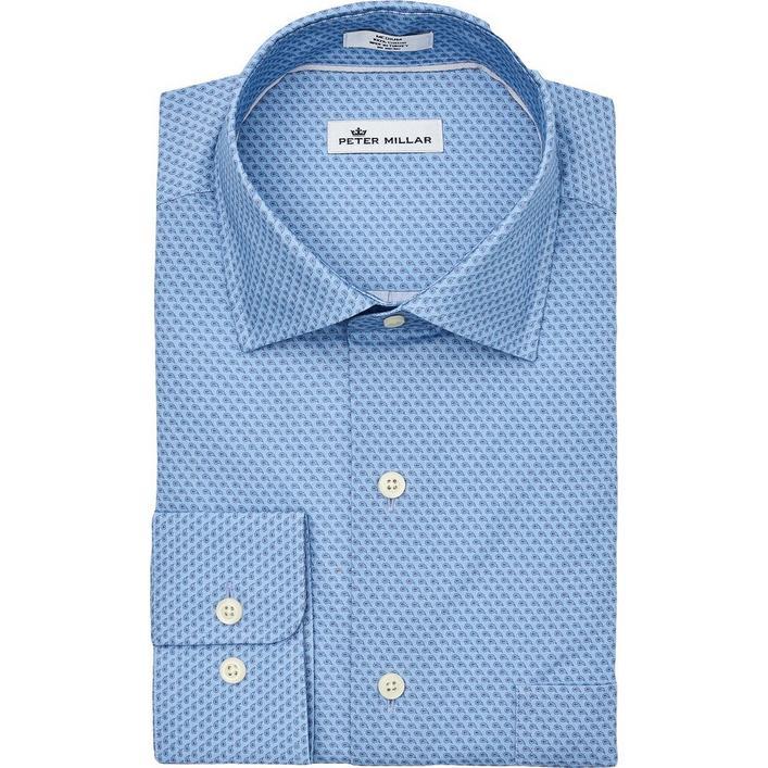 Men's Niblick Woven Long Sleeve Shirt