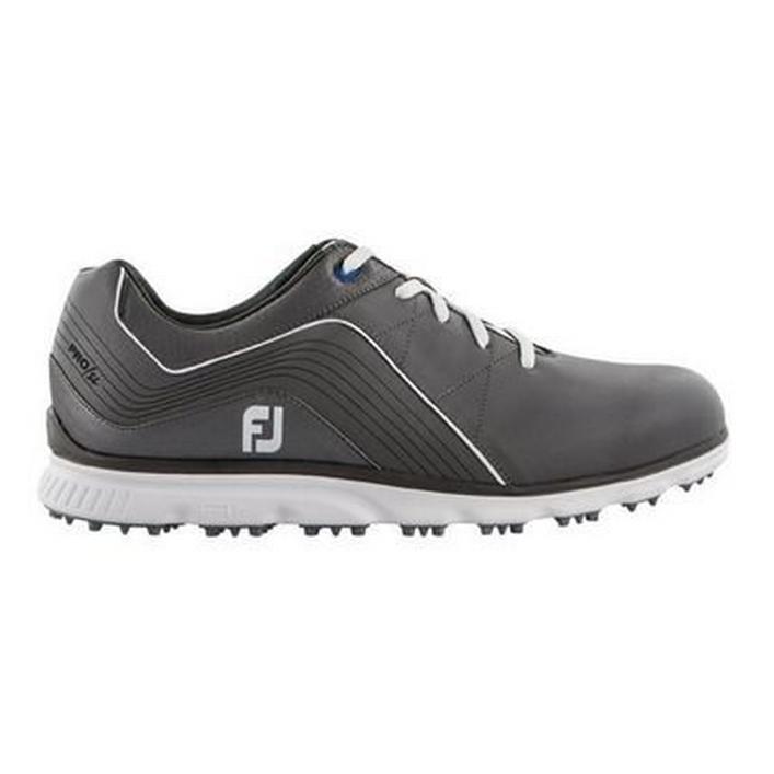 Chaussures Pro SL sans crampons pour hommes - Gris/Blanc