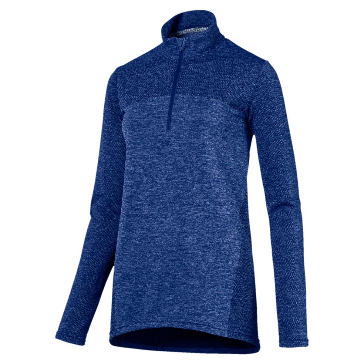 Women s Evoknit Seamless 1 4 Zip Long Sleeve Top   Golf Town Limited 3167dd6464