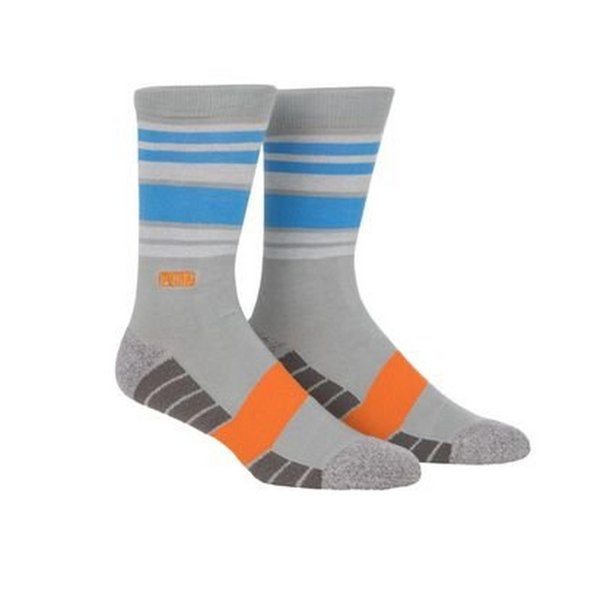 Men's Fusion Stripe Crew Socks
