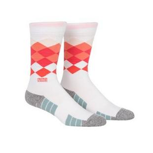 Men's Fusion Argyle Crew Socks