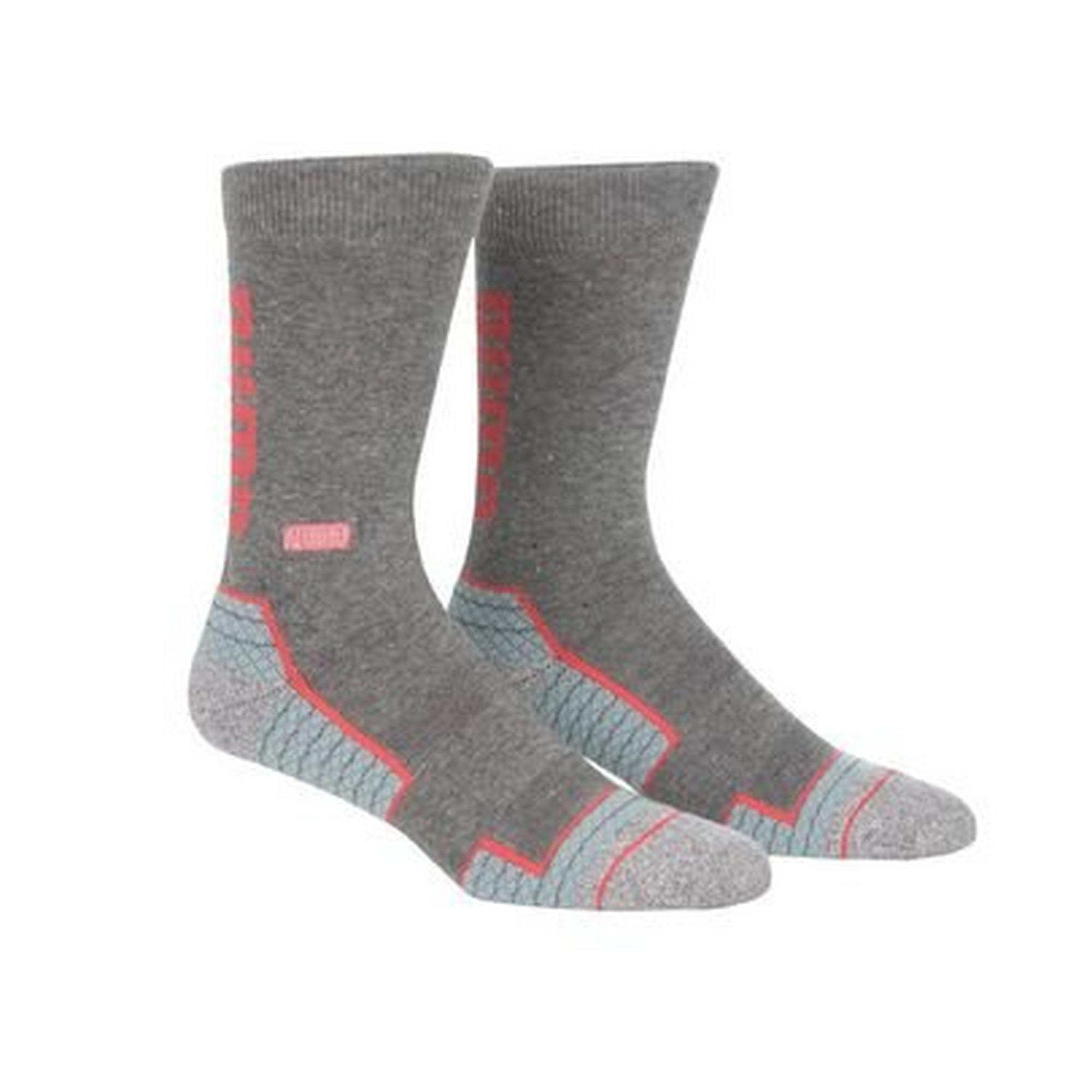 Men's Fusion Wordmark Crew Socks