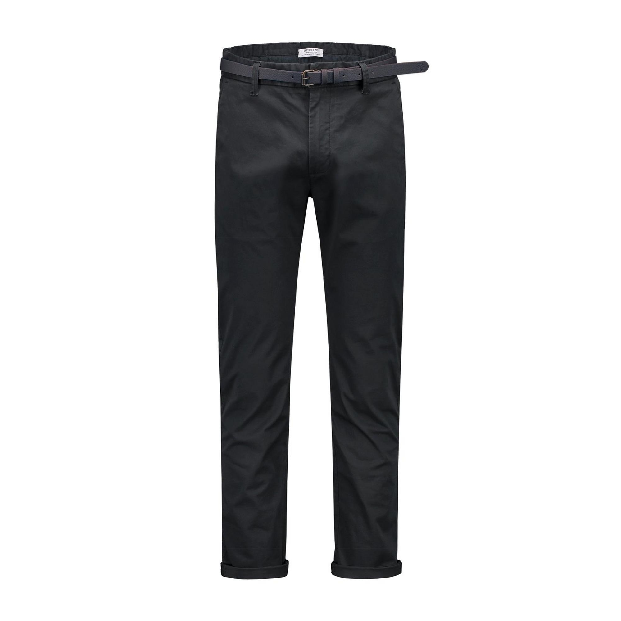 Men's Chino Light Stretch Twill Pant with Belt