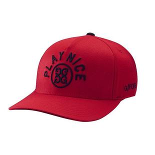 Men's Play Nice Snapback Cap