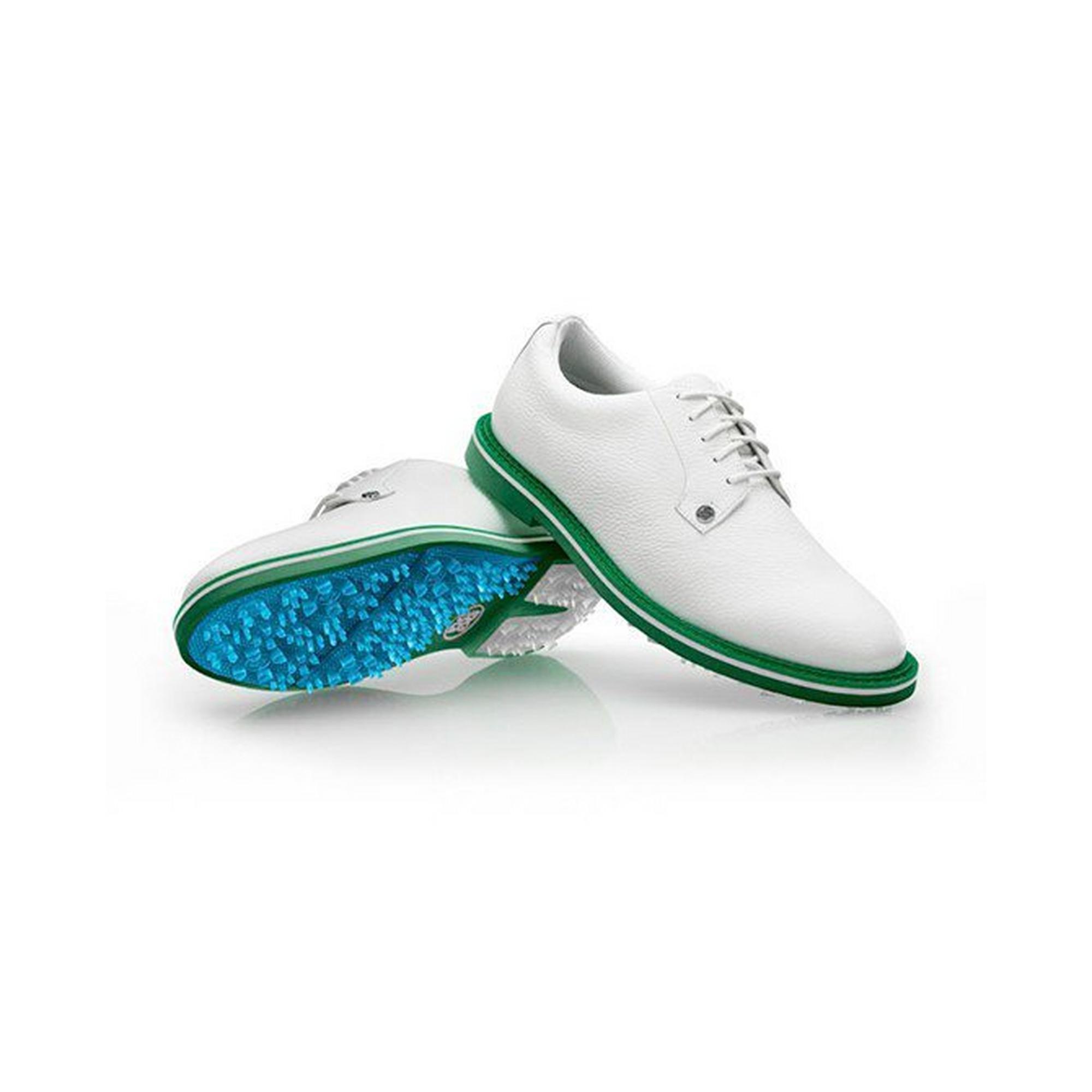 Men's Gallivanter Spikeless Golf Shoe - White/Green