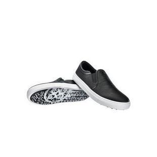 Men's Killer Ts Slip On Spikeless Golf Shoe - Black/White