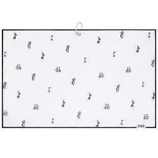 Serviette de golf en microfibre - Icy Icon