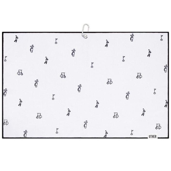Microfiber Golf Towel - Icy Icon