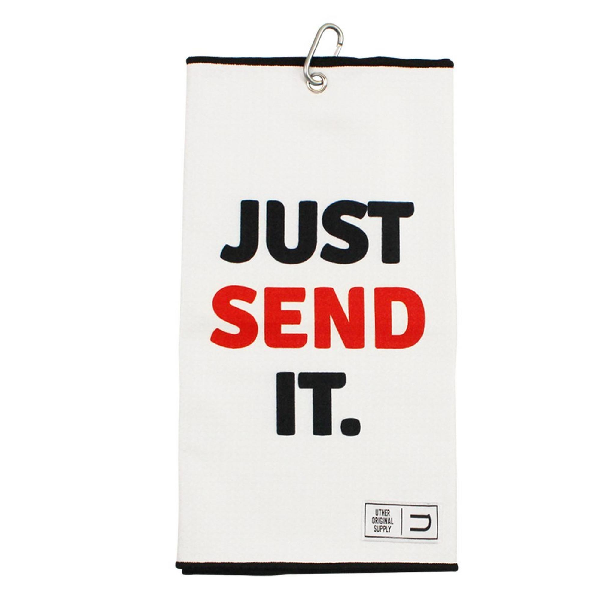 Microfiber Golf Towel - Just Send It