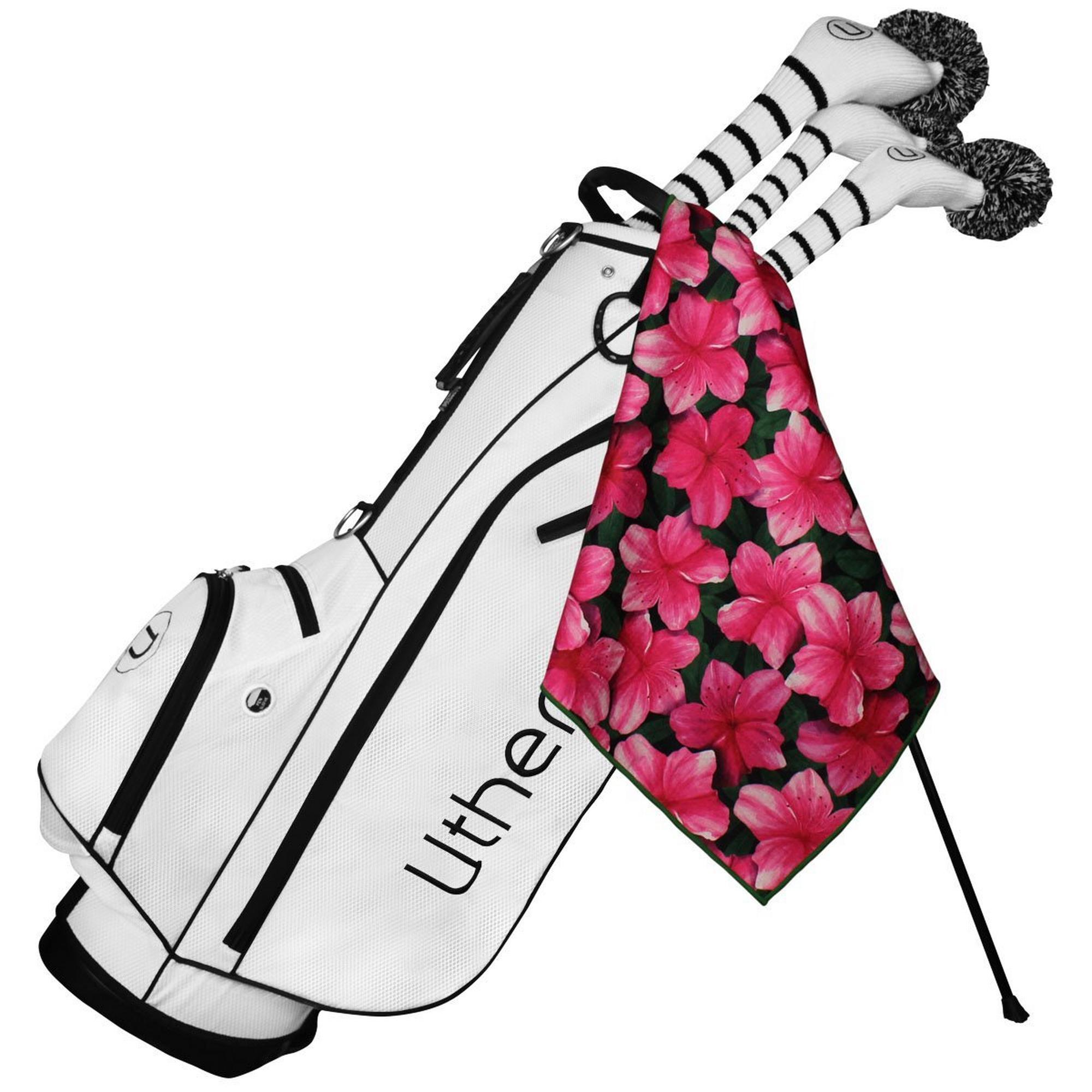 Microfiber Tour Golf Towel - Azaleas of Augusta