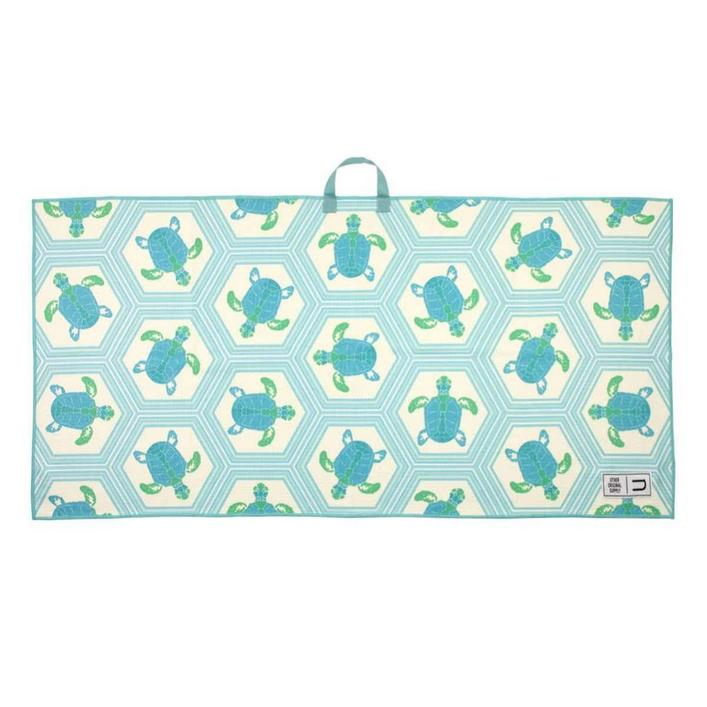 Microfiber Tour Golf Towel - Salty Turtles
