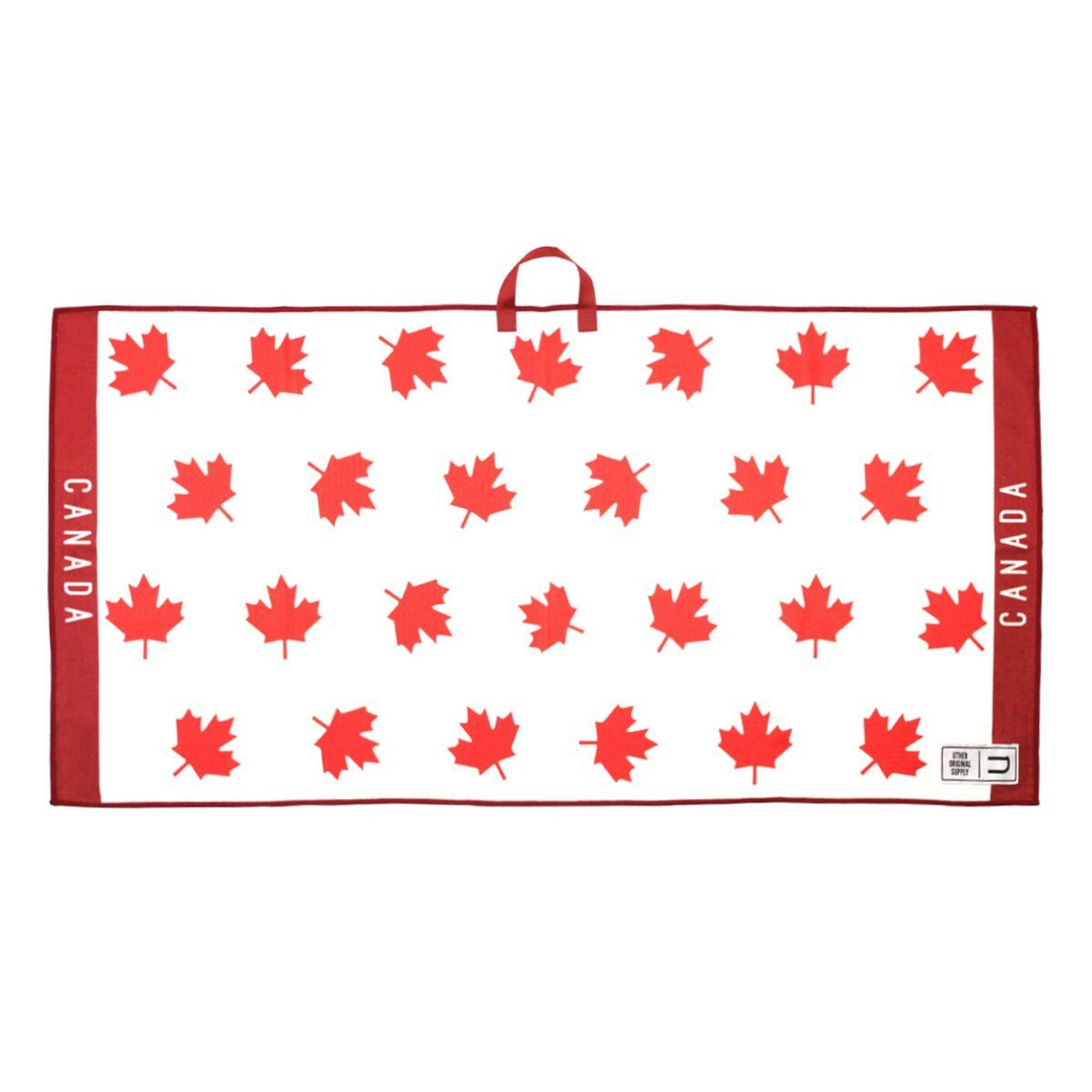 Microfiber Tour Golf Towel - Oh Canada