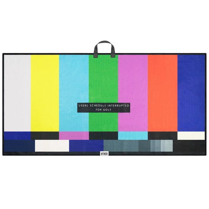 Microfiber Tour Golf Towel - TV Interuption