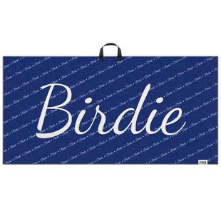 Microfiber Tour Golf Towel - Birdie Mantra