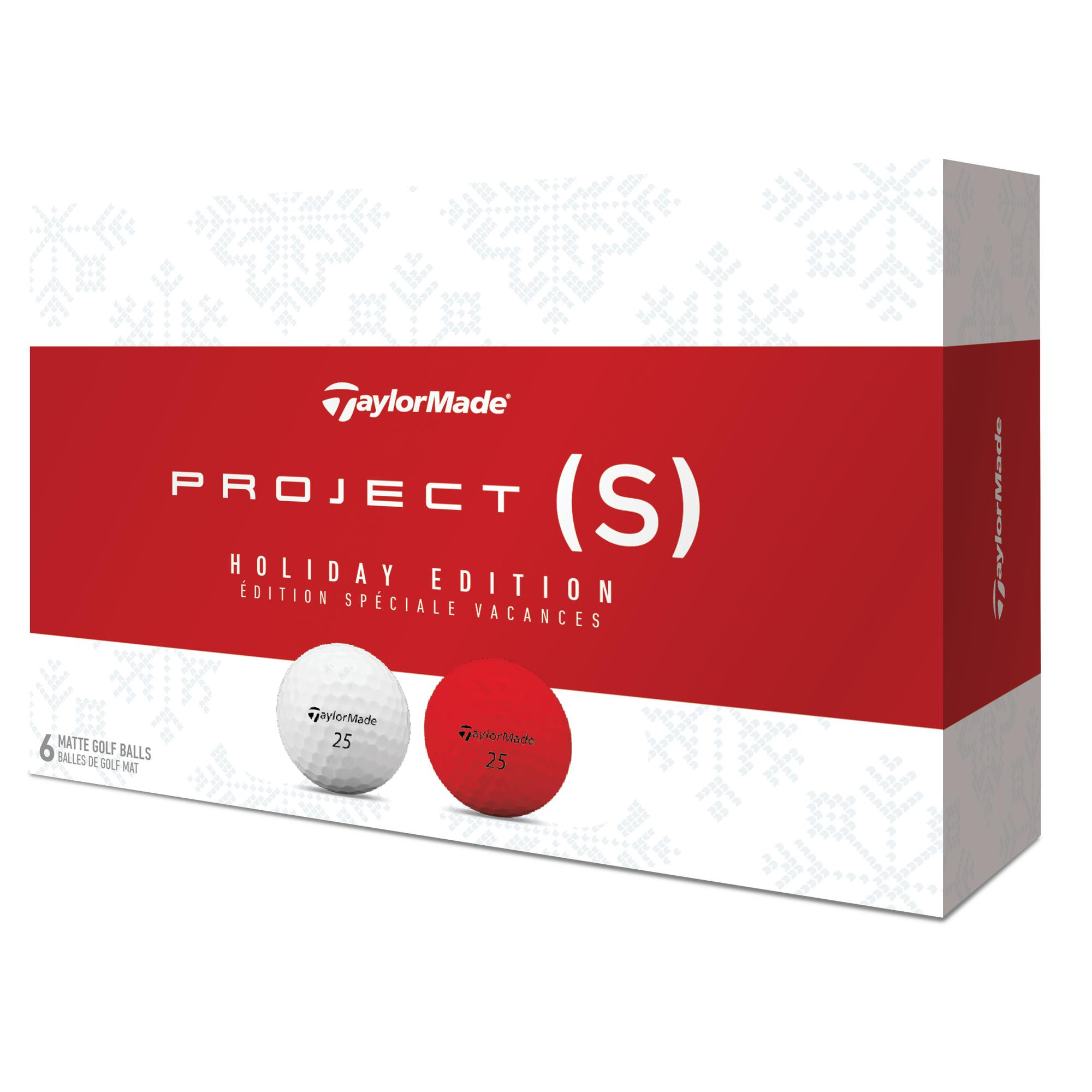 Project (s) Golf Balls - Holiday Pack