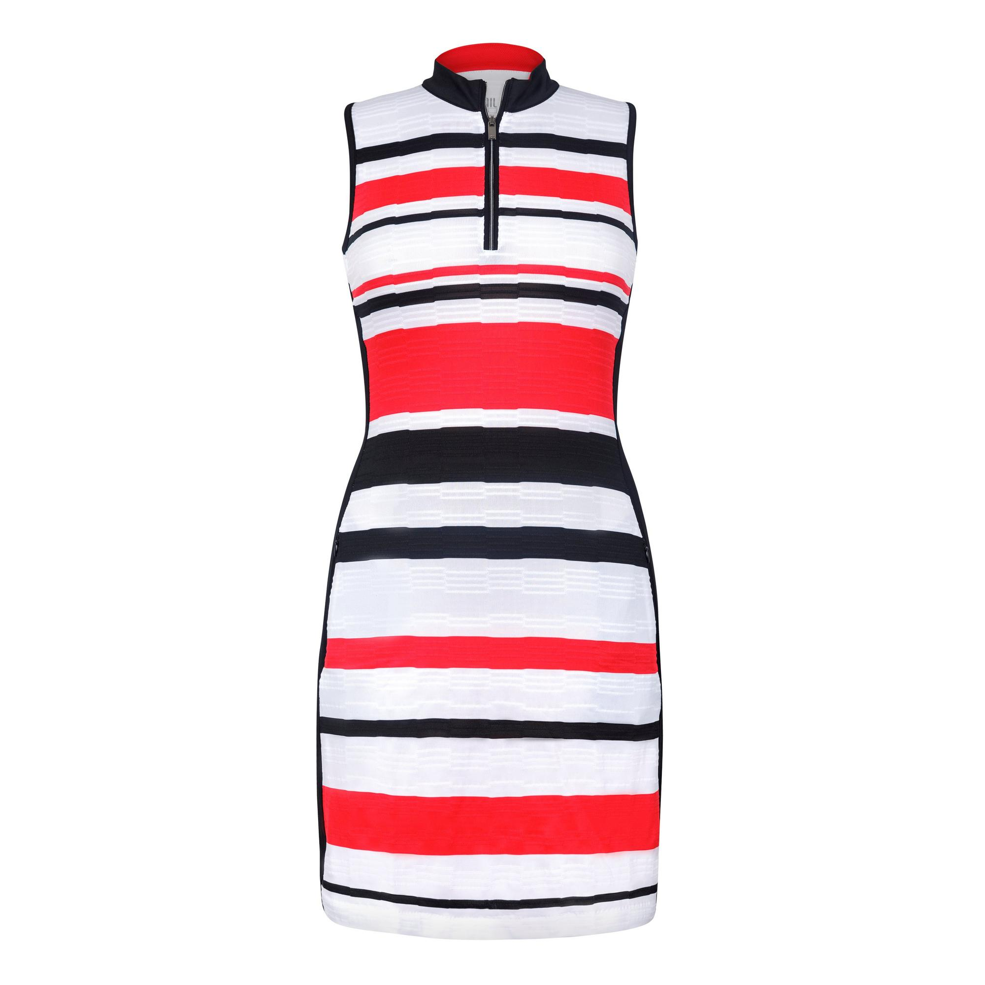 Women's Jade Stripe Sleeveless Dress