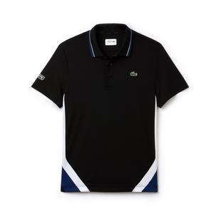 Men's Bands Technical Pique Short Sleeve Polo
