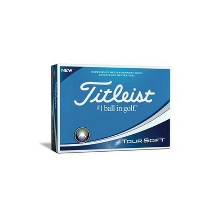 Tour Soft Personalized Golf Balls - White