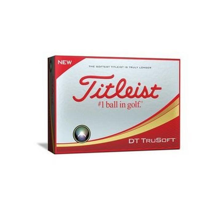 DT TruSoft Personalized Golf Balls - White