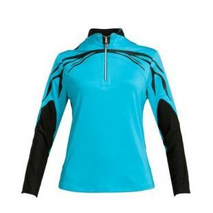 Women's Half Zip Long Sleeve Polo