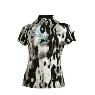 Women's Camo Printed Short Sleeve Top