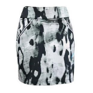 Jupe-pantalon Galleria à imprimé camouflage pour femmes