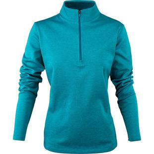 Women's Cozy Pullover Long Sleeve 1/4 Zip Sweater