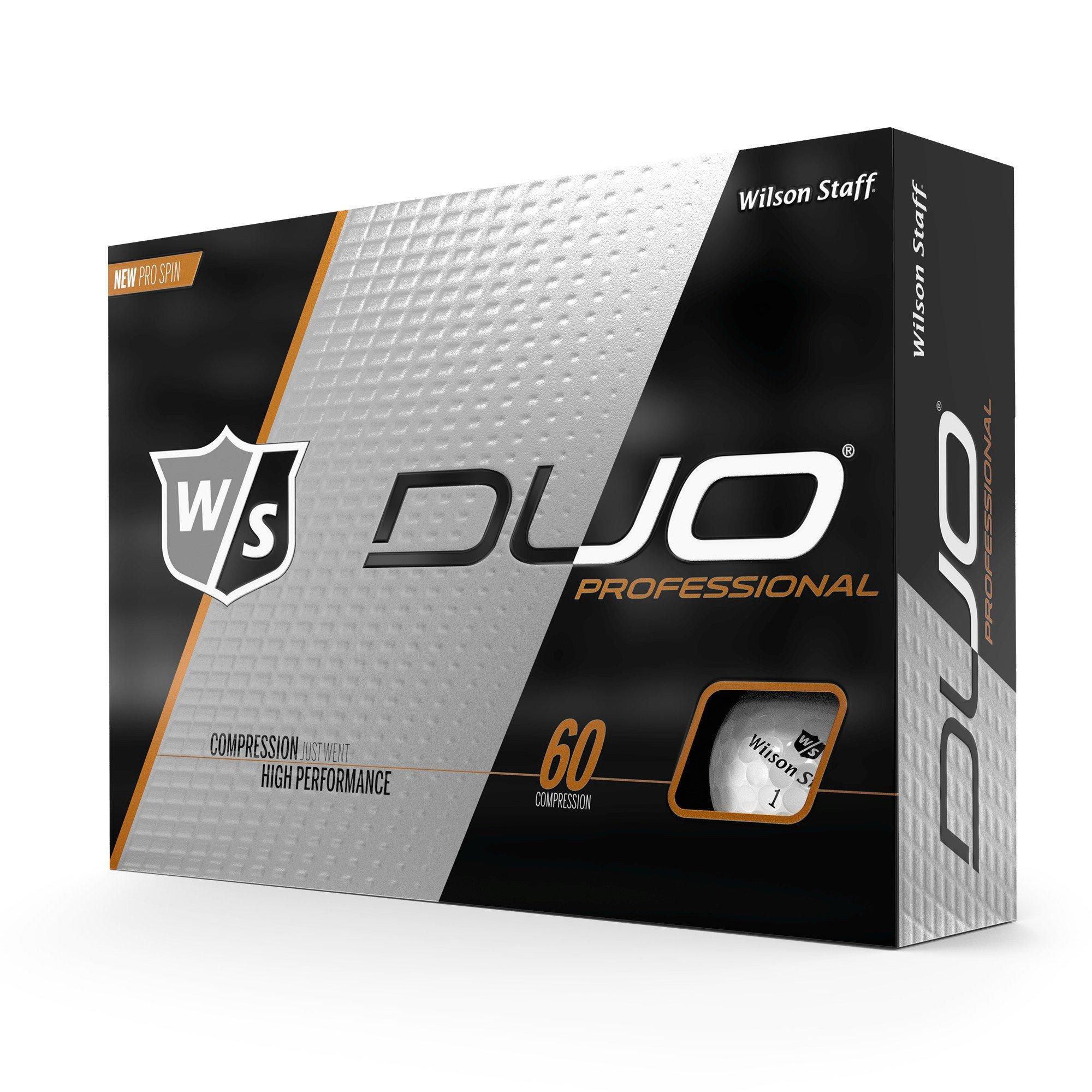 DUO Professional Golf Balls - White