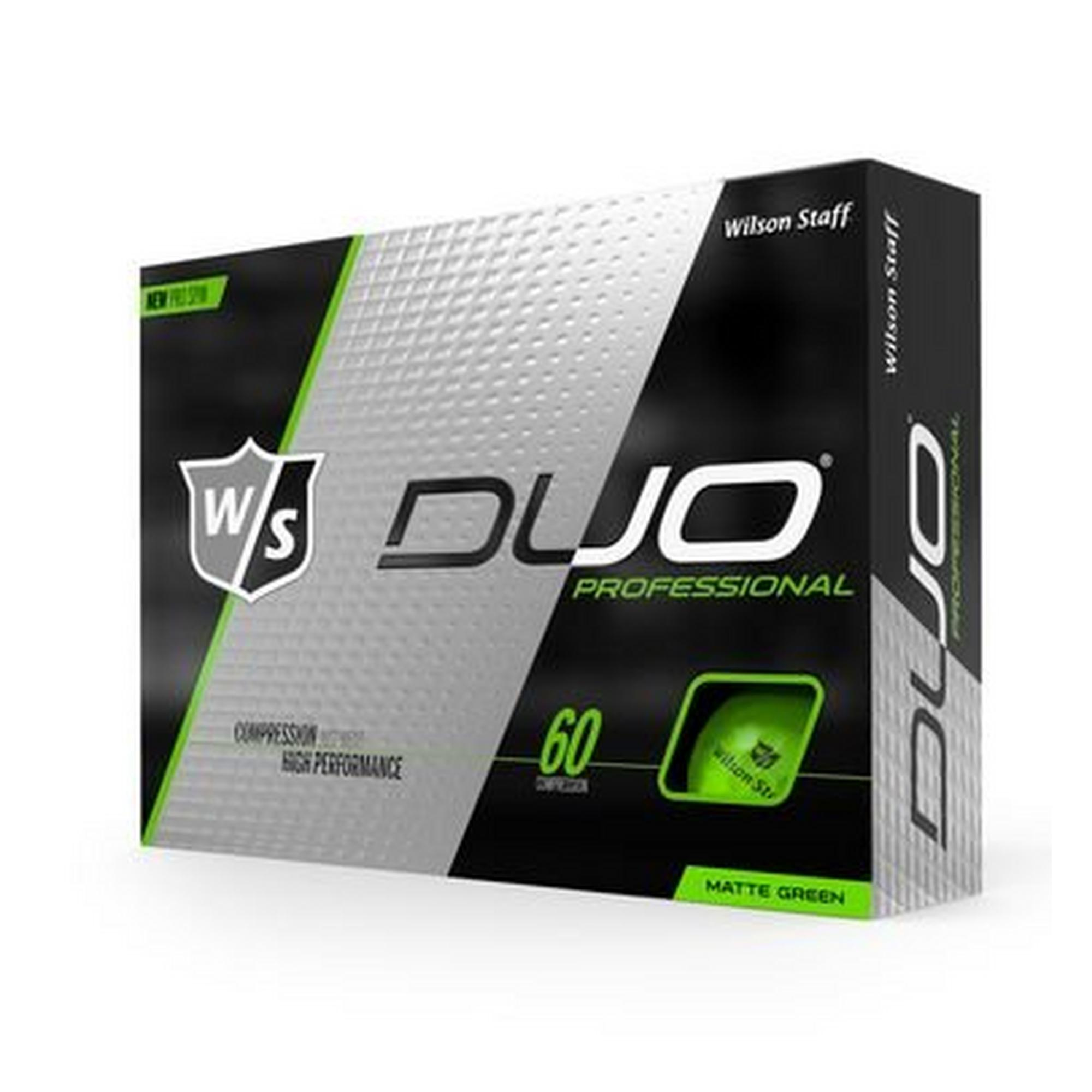 DUO Professional Golf Balls - Green