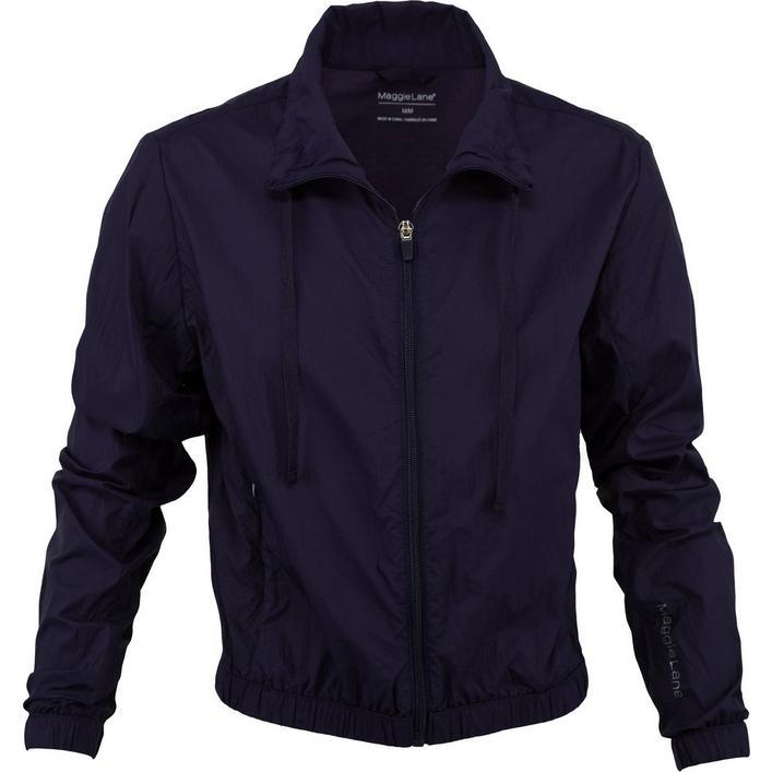 Women's Cropped Wind Full Zip Jacket