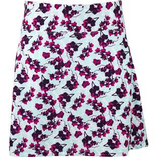 Jupe-short à imprimé floral avec taille élastique pour femmes