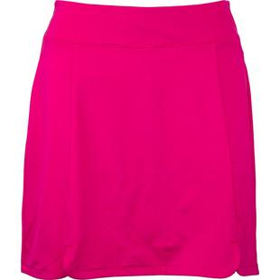 Women's Curved Hem Pull On Skort
