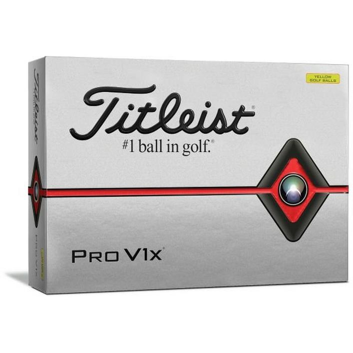 Balles Pro V1x - Jaune