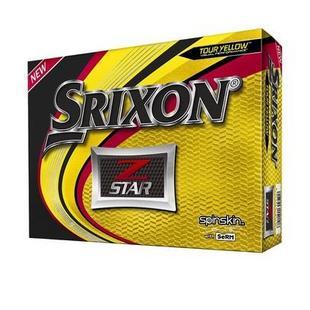 Prior Generation Z-STAR 6 Golf Balls - Yellow