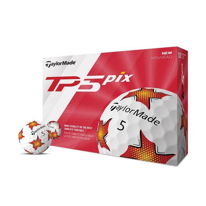 TP5 piX Golf Balls - White