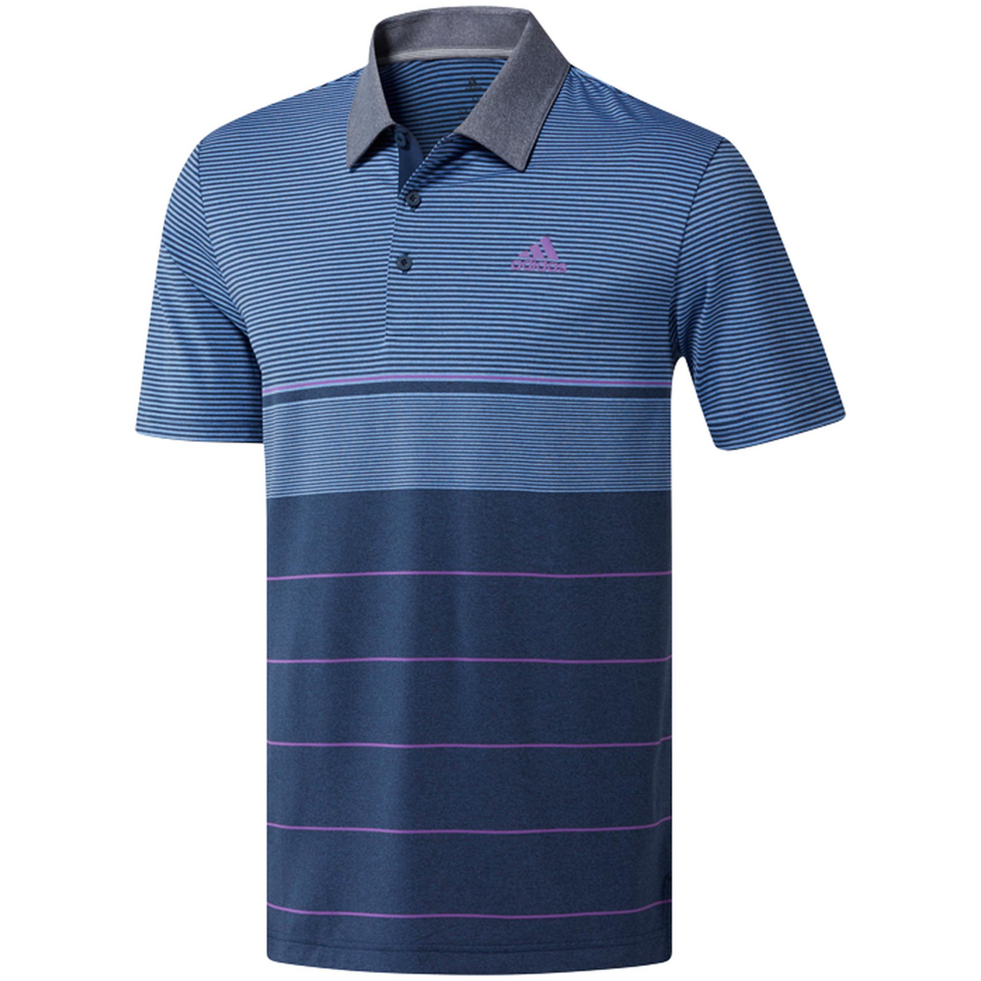 Men's Ultimate 365 Heather Stripe Short Sleeve Shirt