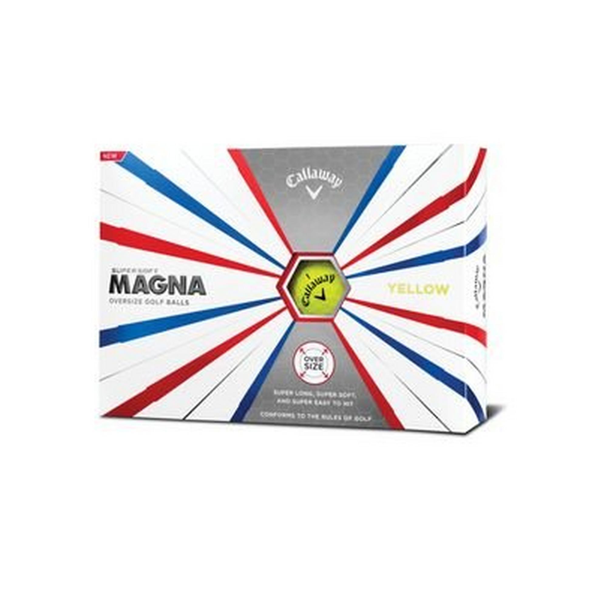 Supersoft Magna Golf Balls - Yellow