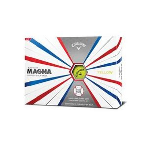 Supersoft Magna Golf Balls - Yellow