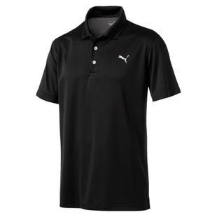Men's Rotation Solid Short Sleeve Shirt