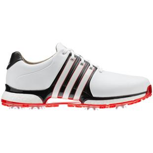 Chaussures Tour360 XT à crampons pour hommes - Blanc/Noir/Rouge