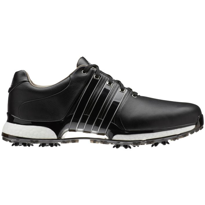 Men's Tour360 XT Spiked Golf Shoe - BLACK/WHITE/SILVER