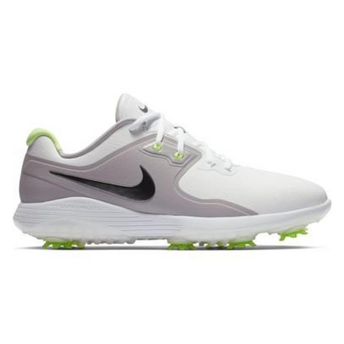 Men's Vapor Pro Spiked Golf Shoe - WHT/GRY/GREEN